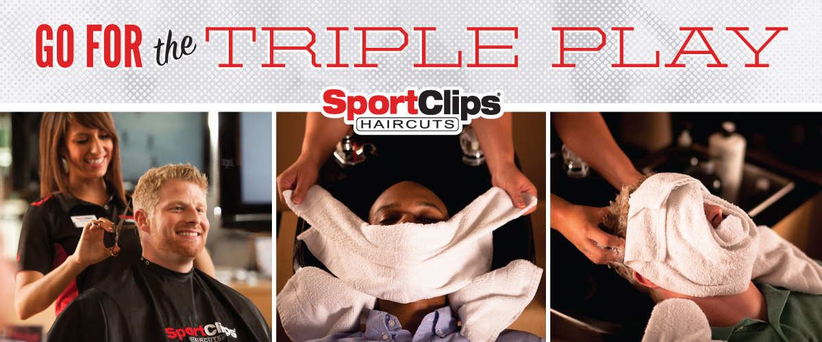 The Sport Clips Haircuts of El Dorado Hills - Town Center  Triple Play